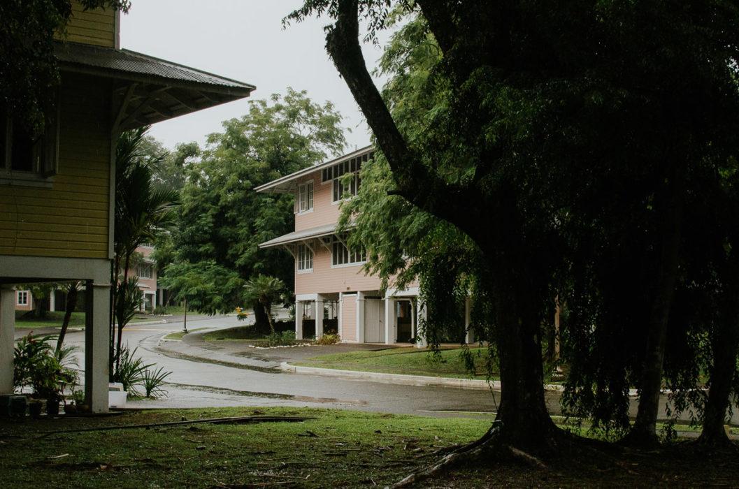 colonians houses Gamboa americans quarters