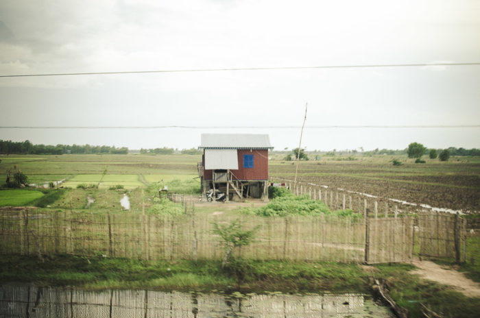 house in Cambodia taken by Milie Del