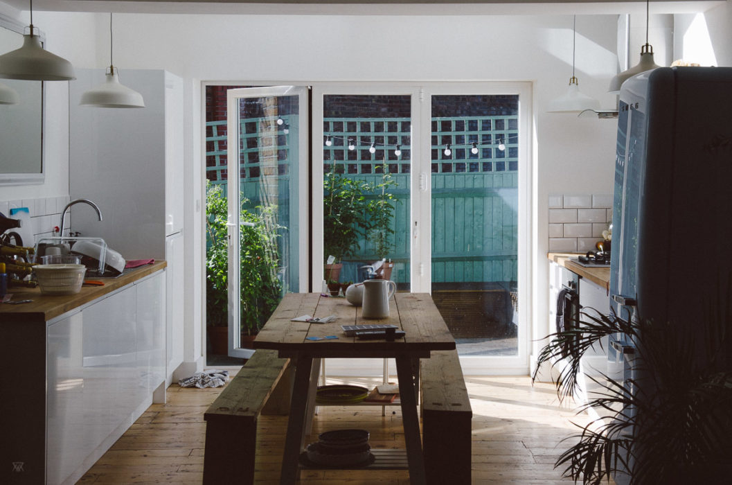 Beautiful kitchen in Bow Road, London