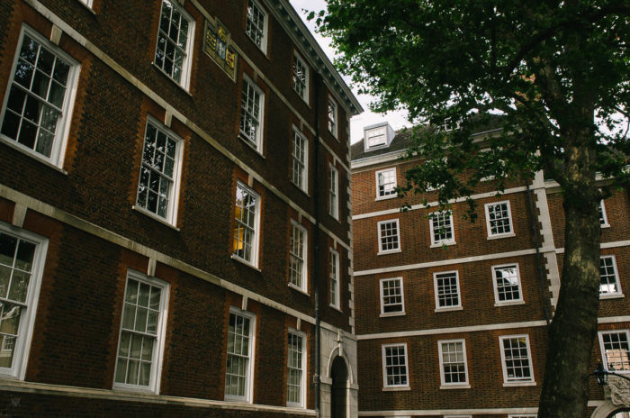 Building and bricks - Inns of courts london - taken by Milie Del