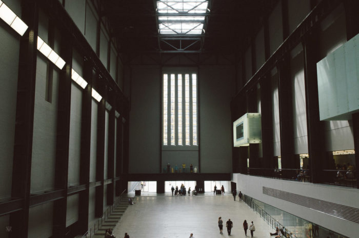 Tate Museum Entrance - London - taken by Milie Del