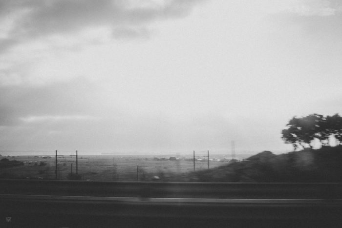 speed Roadream Black and white photography of a Dream on the Road spain taken by Milie Del