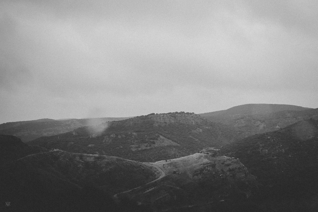 Mountains Roadream Black and white photography of a Dream on the Road spain taken by Milie Del