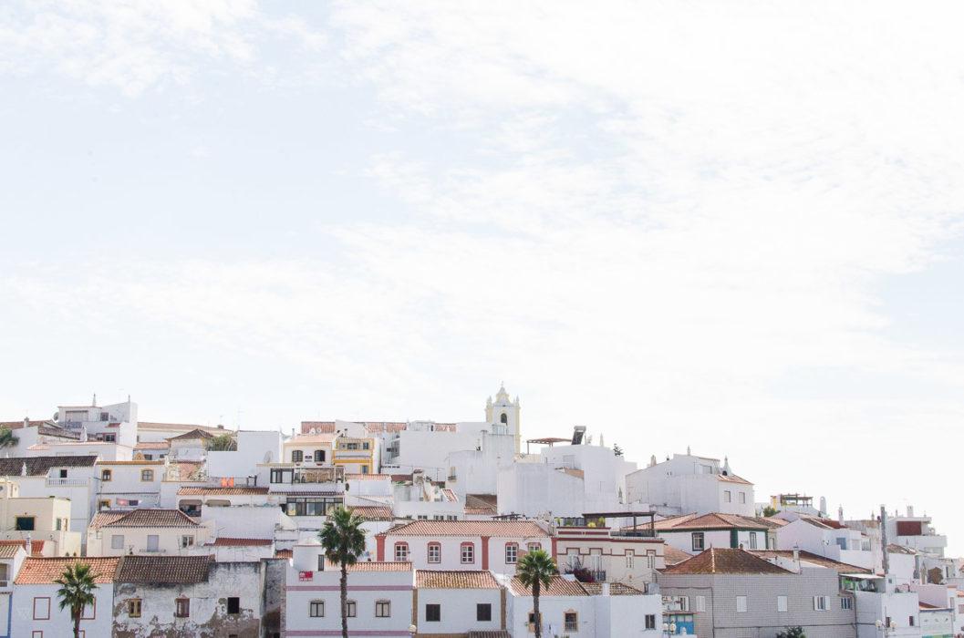 Photo of Ferragudo white small town in portugal