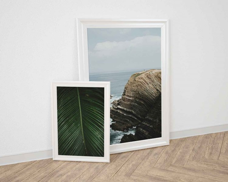 Nice frame vintage feel with photographs by Milie Del
