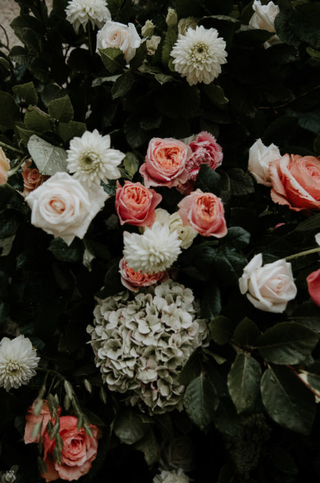 Flowers Roses Wedding photographer Milie Del Drôme