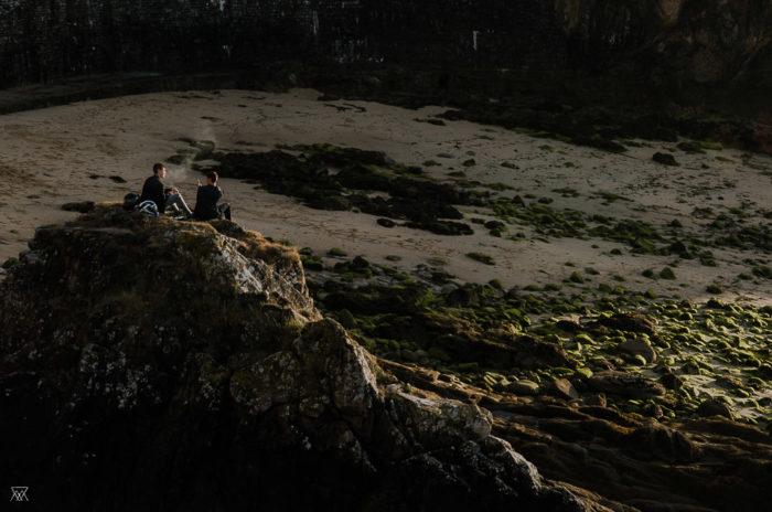Coucher de soleil Douarnenez Milie Del Photographer Saltwater Brittany France