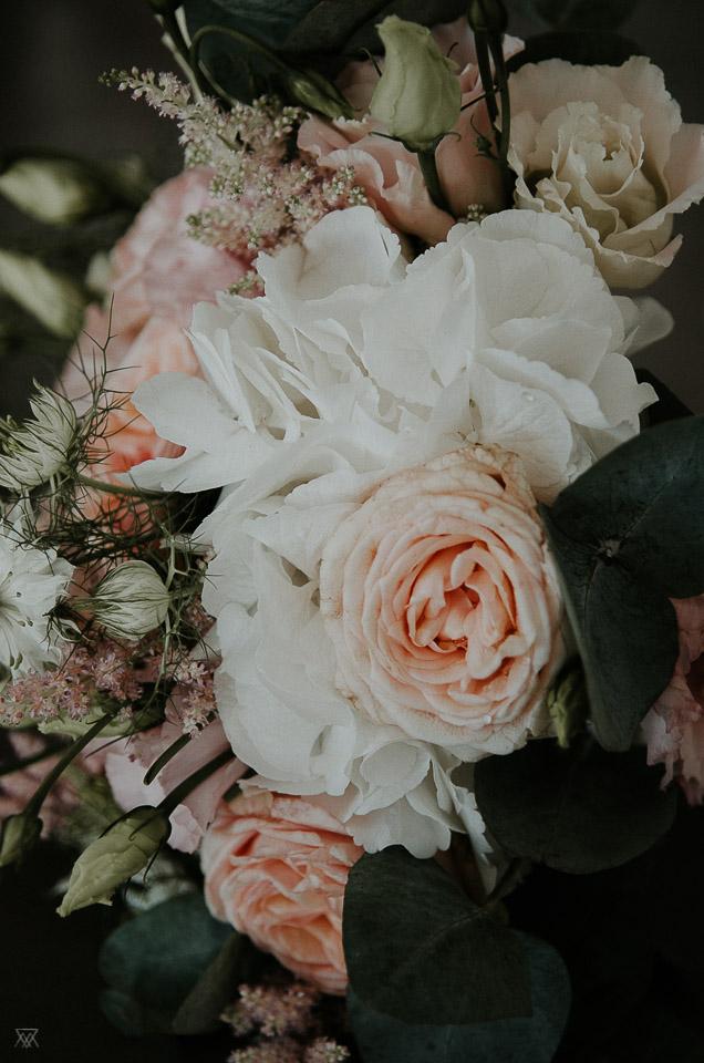 bouquet wedding photographer Milie Del Montpellier France