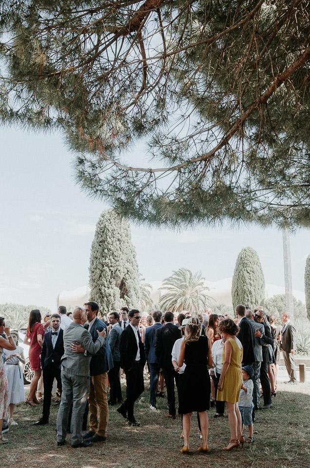 domaine de Grammont wedding photographer Milie Del Montpellier France