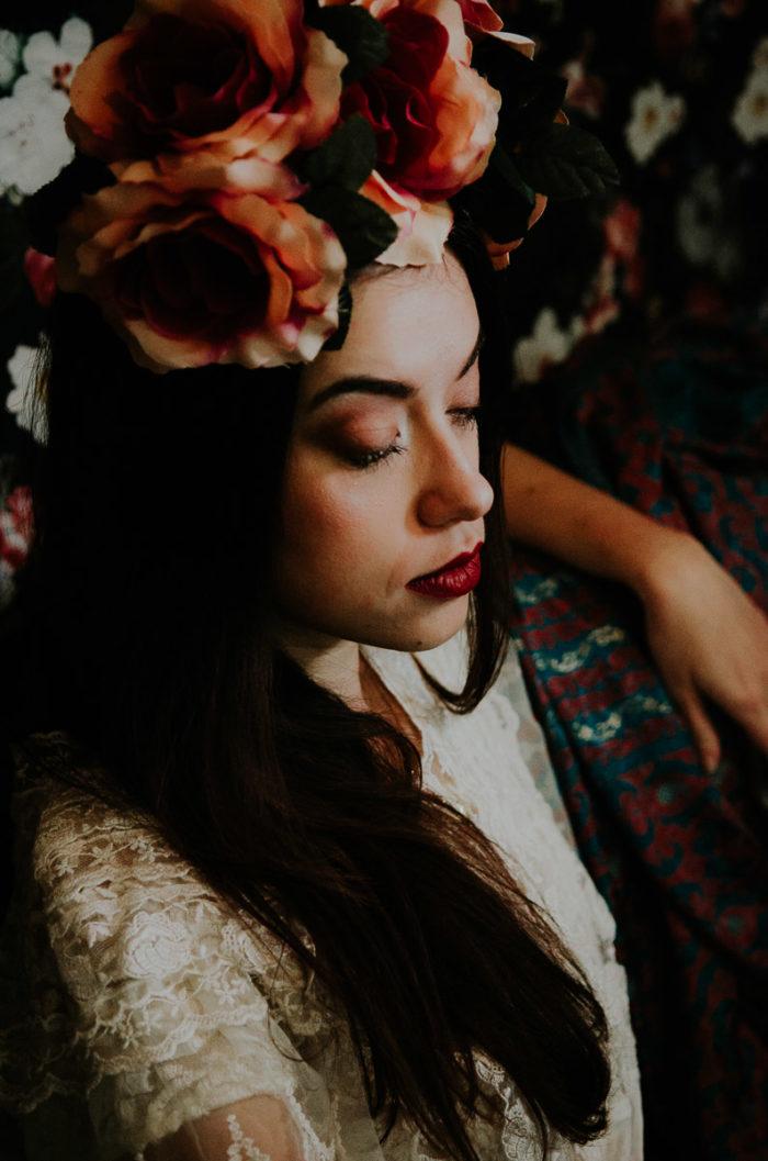 portrait editorial mode inspiration frida kahlo