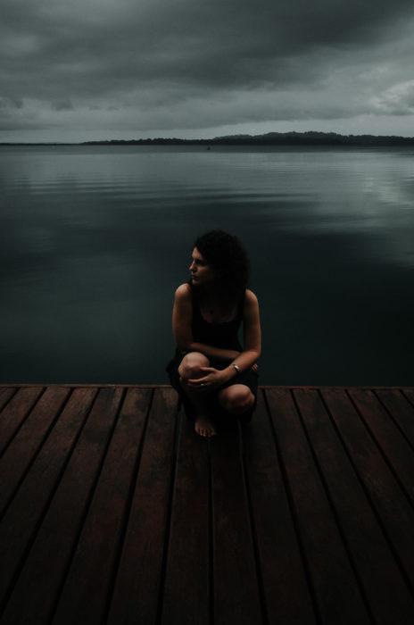milie del photographe ponton lagune bocas del toro