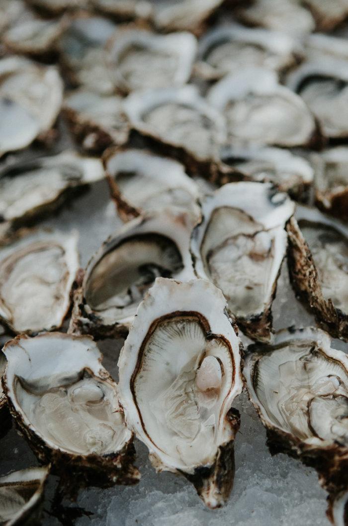 Huîtres fooding Photographe culinaire Milie Del