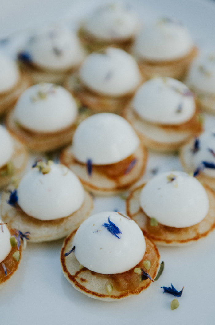 Fooding Montpellier toast blinis mozzarella Traiteur germain mariage