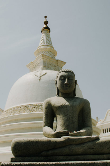 old temple statue sri lanka g