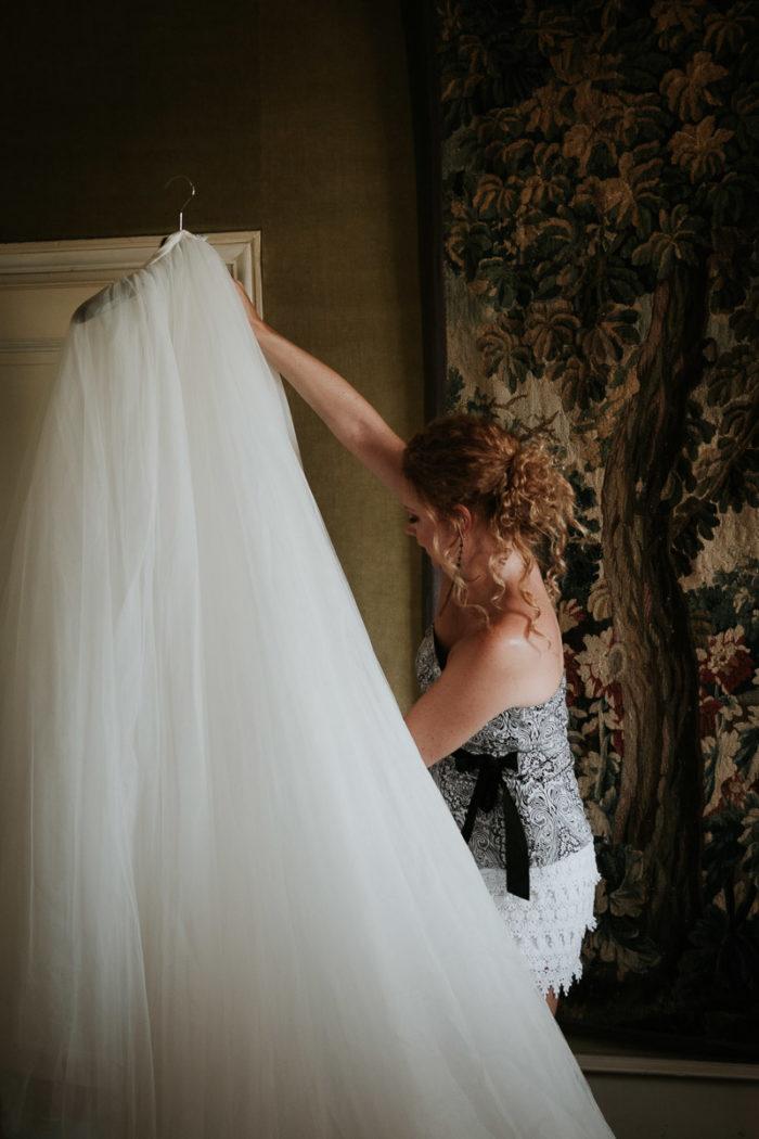 portrait soeur robe mariage boheme chic