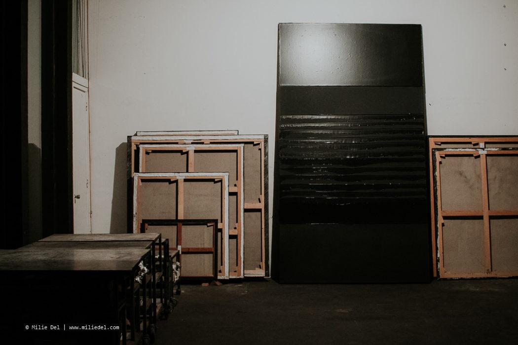 Atelier artiste Pierre Soulages Sète