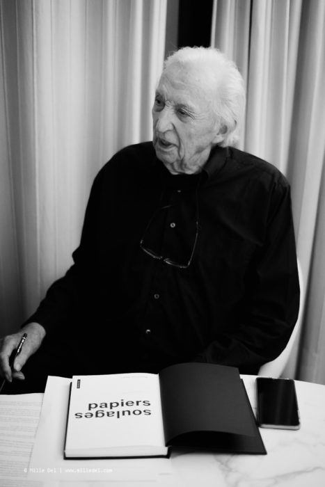Monopol Magazin Pierre Soulages portrait Sète by Milie Del Photographer