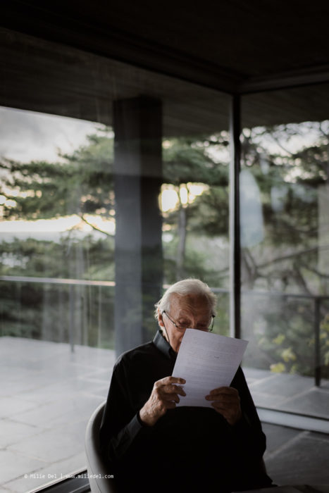 Portraits maison Sète Pierre Soulages Monopol Magazin by Milie Del Photographer