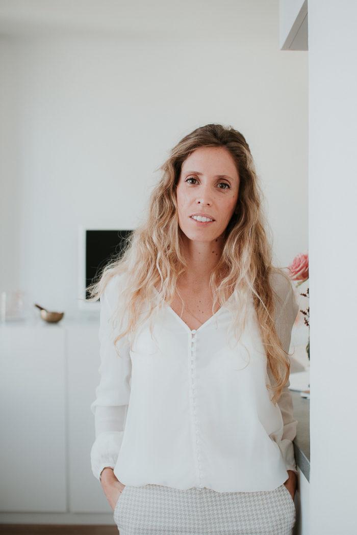portrait long cheveux lumineux business session