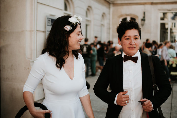 mairie quinzieme paris wedding portrait