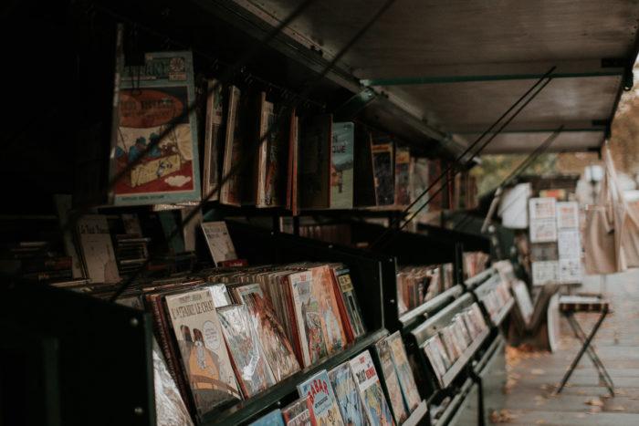 quai bouquinistes vieilles revues paris