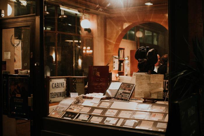 cabine telephonique unique charm Parisian covered passages