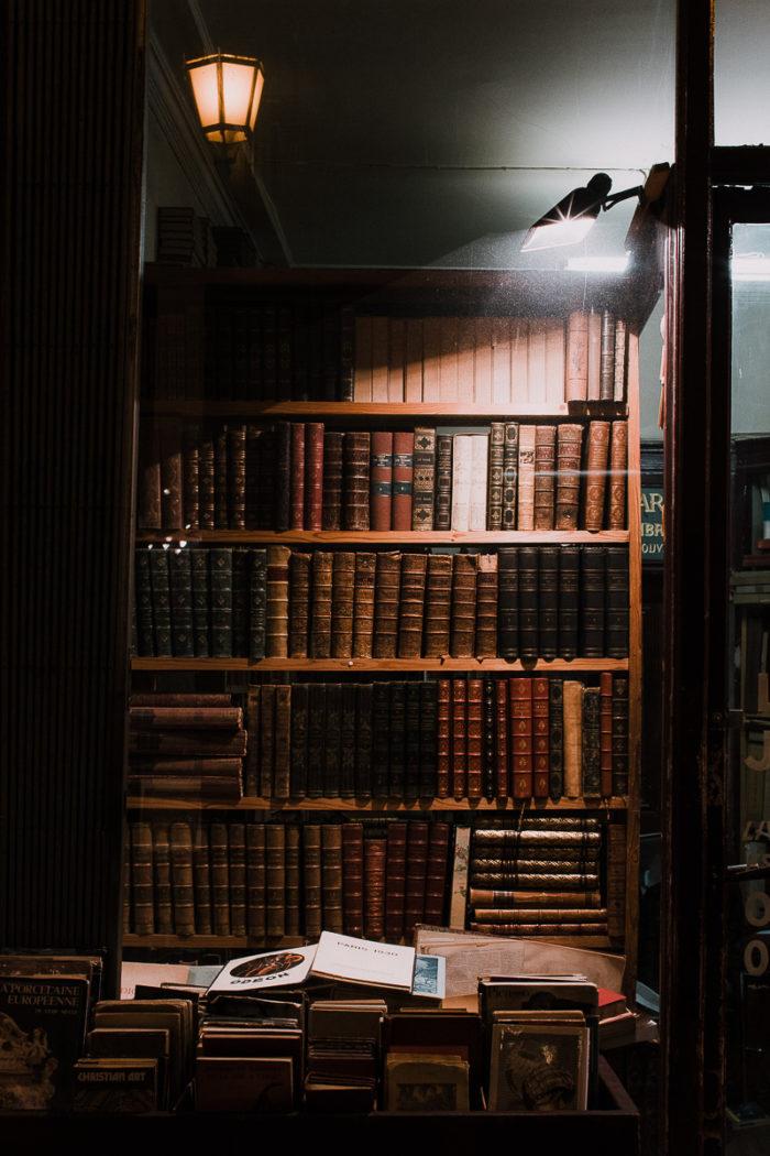 library unique charm Parisian covered passages