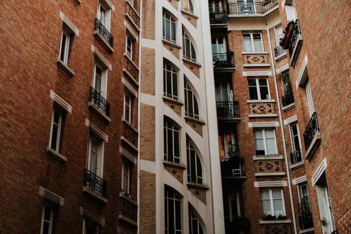 paris bulding bricks wall photography