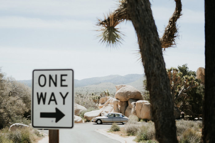 one way movie style picture joshua tree