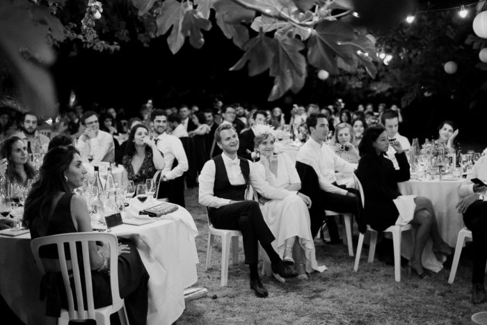 Wedding Speeches under the fig trees