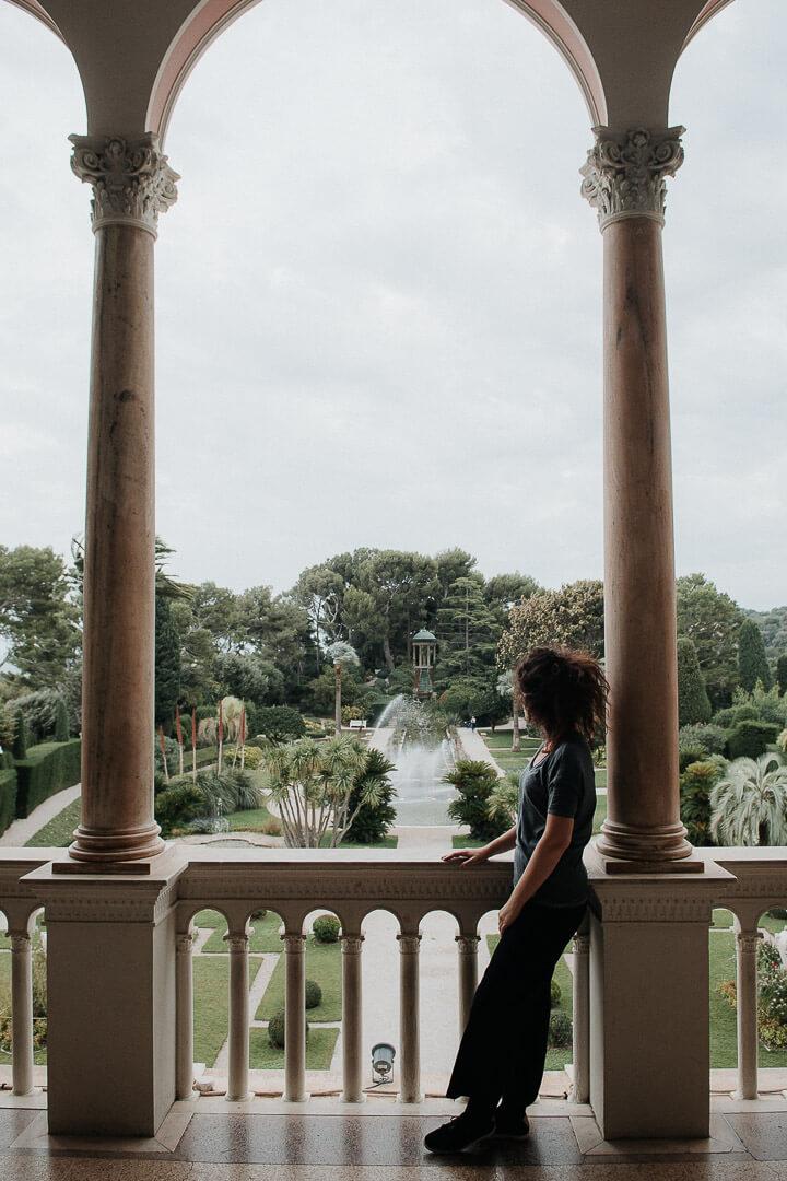 Milie Del Villa Ephrussi de Rothschild garden Saint-Jean-Cap-Ferrat