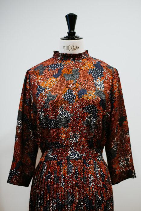 robe aux couleur de l'automne sessun milie del