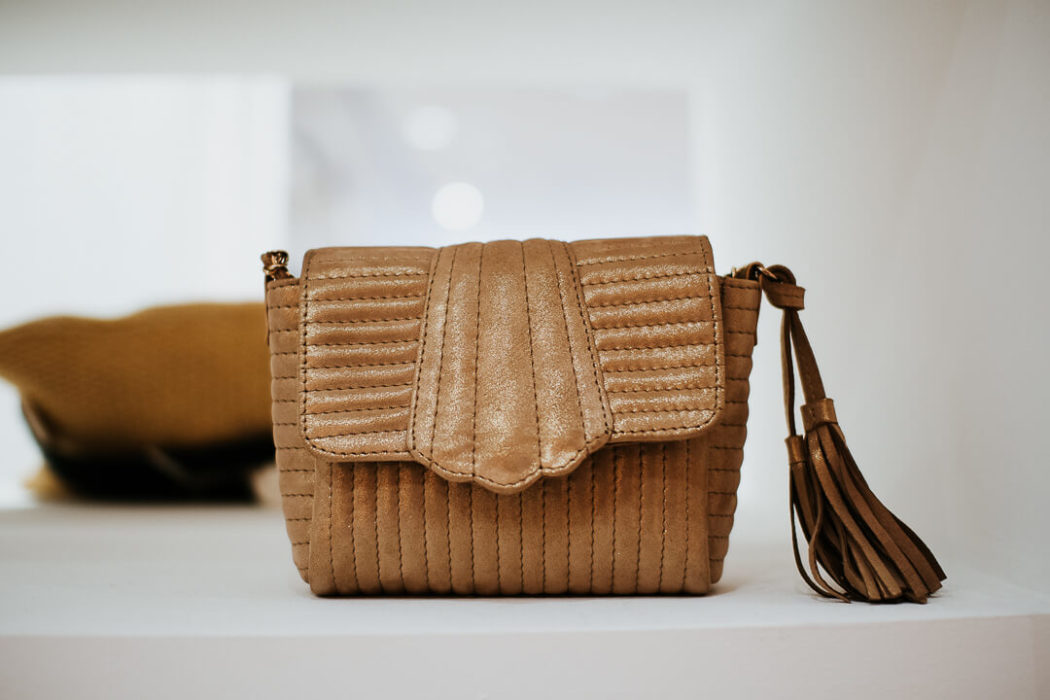 sac à main en cuir sessun collection hiver 2019