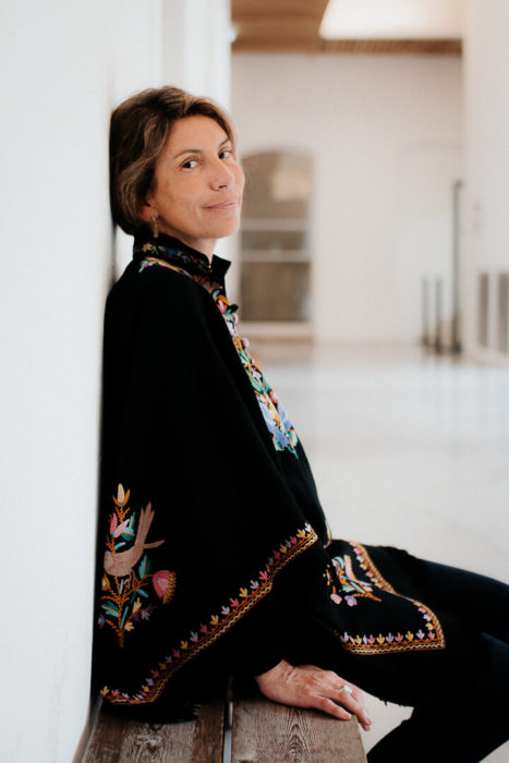 portrait de camille cattan par Milie Del Panacée