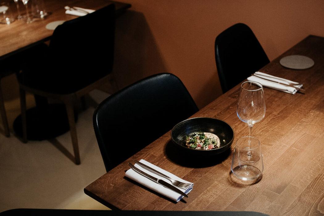 Table au restaurant reflet d'Obione gastronomie montpellier milie del